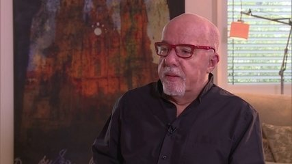 GloboNews Literatura entrevista o escritor Paulo Coelho