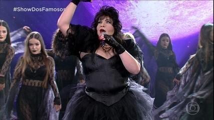 Tiago Abravanel homenageia Rosana no Show dos Famosos
