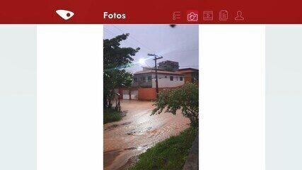 Chuva em Praia de Capuba na Serra