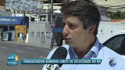 Transalvador aumenta o limite de velocidade na Rua Marquês de Monte Santo, no Rio Vermelho