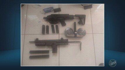 Policiais do Baep apreenderam armas em Campinas