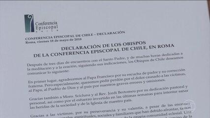 Acusados de pedofilia, 34 bispos do Chile renunciam