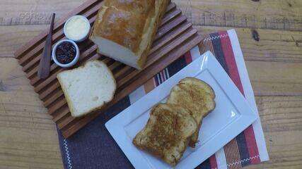 ´É de Casa': aprenda a fazer o delicioso Pão Petrópolis