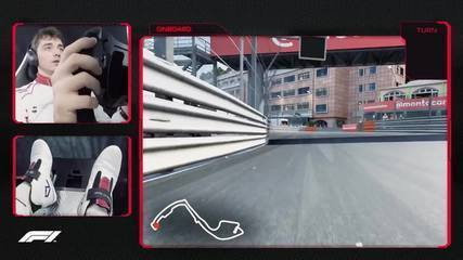 Vá de carona com Charles Leclerc em uma volta pelo Circuito de Mônaco