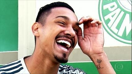 Tonhão! O zagueirão do Palmeiras