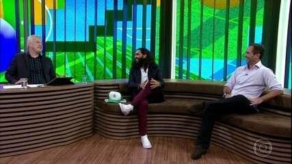 Juan Pablo Sorin e Caio Ribeiro respondem se já existiu rivalidade entre eles