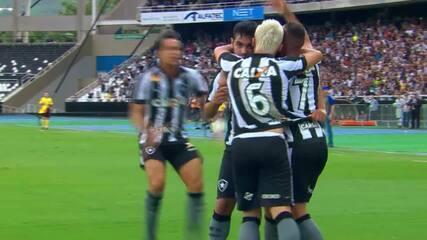 As participações em gols de Valencia pelo Botafogo em 2017