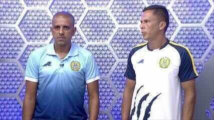 Fininho e Lecheva falam sobre classificação do Nacional à segunda fase da Série D