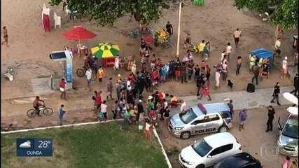 Morre o jovem atacado por tubarão em Jaboatão dos Guararapes, no Grande Recife