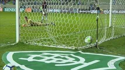 América-MG vira sobre o Atlético-PR e consolida melhor campanha como mandante na Série A