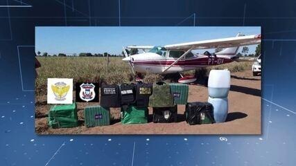 FAB intercepta avião com 240 kg de cocaína