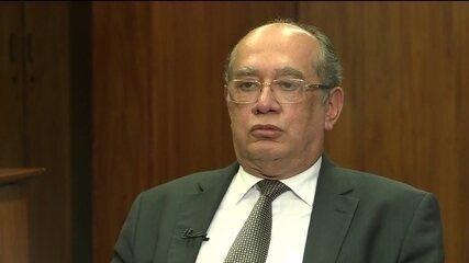 Ministro Gilmar Mendes diz que o Judiciário está sobrecarregado