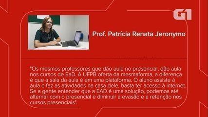 Coordenadora da UFPB Virtual explica os desafios dos EAD nas instituições públicas