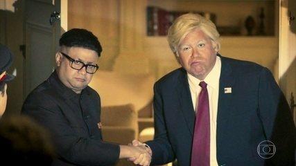 O Primeiro Encontro de Kim Jong-un e Trump