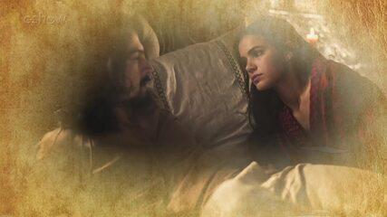 Resumo de 04/07: Afonso acorda espantado com Catarina em sua cama