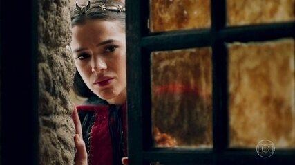 Catarina vê Afonso com Amália