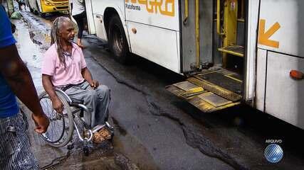 Bahia é o 2º estado com pior índice de acessibilidade no transporte púlico, segundo o IBGE