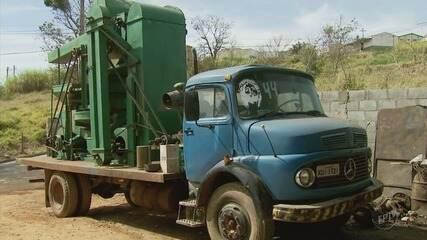 Máquinas de beneficiamento de café são emprestadas a pequenos produtores em Muzambinho