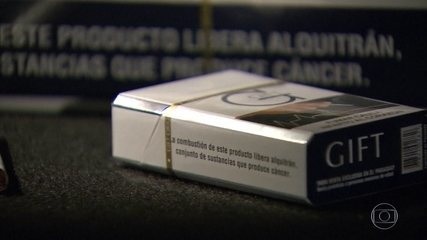 No Brasil, cigarros clandestinos representam 48% do mercado