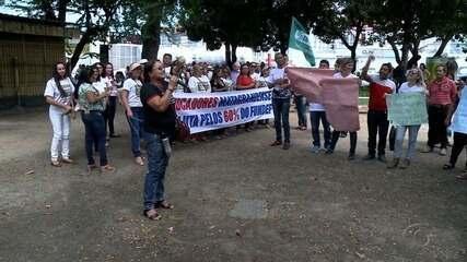 Professores municipais de municípios de Alagoas protestam por repasse dos precatórios do antigo Fundef