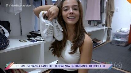 Giovanna Lancellotti mostra os looks de Rochelle