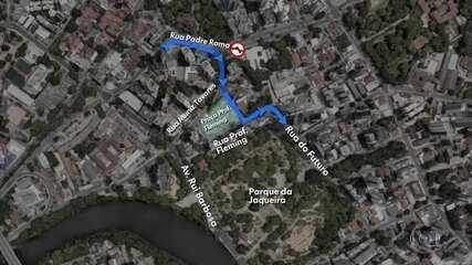 Vias que dão acesso ao Parque da Jaqueira têm mudanças no trânsito