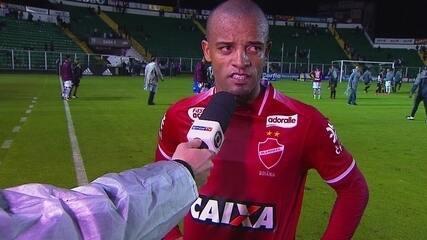 Hélder comenta revés do Vila Nova em Florianópolis