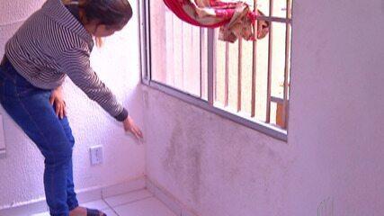 Moradores de condomínio em Itaquaquecetuba somam problemas com a estrutura do prédio