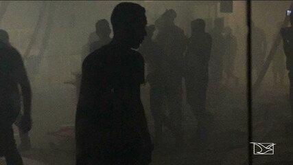 Polícia procura bandidos que atacaram agência bancária no Maranhão