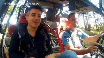 Anderson Di Rizzi acelera com 'gaiola' no primeiro episódio