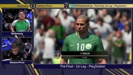Os gols de Msdossary 4 x 0 Stefano Pinna pela final do Mundial de Fifa