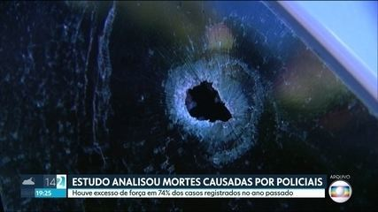 Estudo da Ouvidoria da Polícia analisa mortes causadas por policiais em São Paulo.