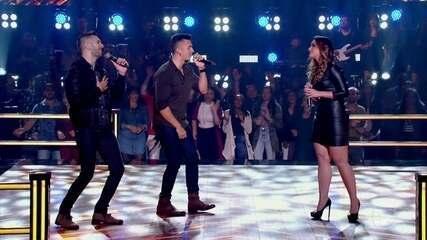 "D'Lucca & Gabriel e Lais Yasmin cantam ""You're Still The One"""