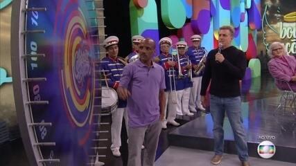 O ganhador do 'Boas Ações' vai até os Estúdios Globo