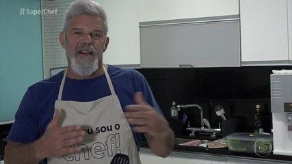 'Super Chef Celebridades': Raul Gazolla quer aprender técnicas para incrementar o que sabe