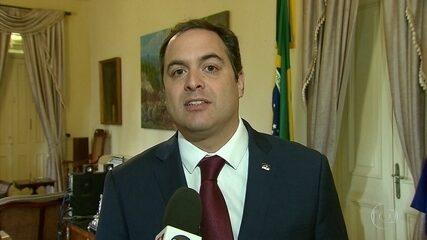 Paulo Câmara, do PSB, fala por que quer ser reeleito governador de PE