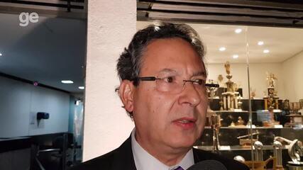 Lásaro Cândido fala sobre o projeto do novo estádio do Atlético-MG