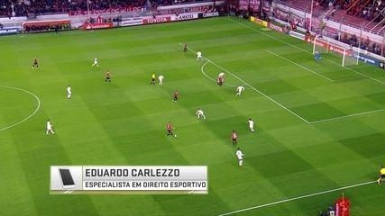 Santos pode perder os pontos conquistados por ter escalado Carlos Sanchéz contra o Indepen
