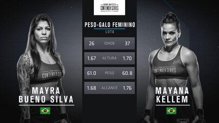 The Contender Series Brasil 1 - Mayra Bueno x Mayana Kellem