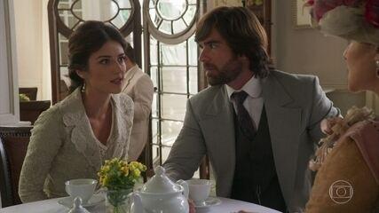 Cecília não tolera as mentiras de Josephine e a confronta!