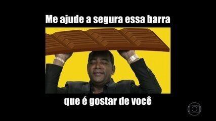 Luiz Carlos, campeão de memes