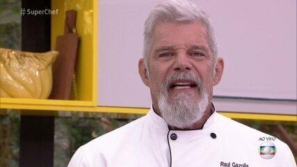 Raul Gazolla defende sua participação no 'Super Chef Celebridades'