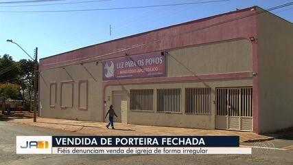 Após denúncia de fiéis, polícia indicia pastores por venda ilegal de igreja em Goiânia