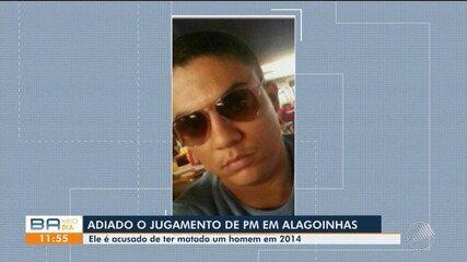 MP adia julgamento de PM acusado de matar homem em Alagoinhas
