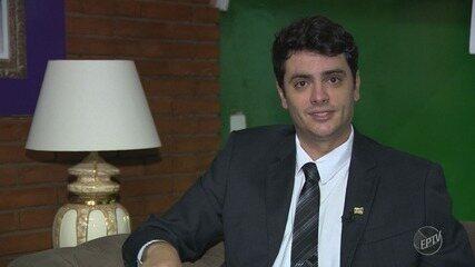 'Eleições 2018': EPTV 1 entrevista Rodrigo Tavares (PRTB), candidato ao governo estadual