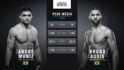 The Contender Series Brasil 1 - Andre Muniz x Bruno Assis
