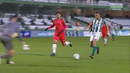 Confira os gols de Coritiba 2 x 1 Boa Esporte