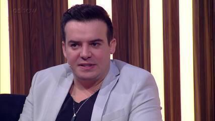 Belutti conta que é fã do Roupa Nova e relembra participação em concurso