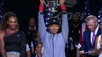 Naomi Osaka se torna a primeira japonesa a vencer um Grand Slam de tênis