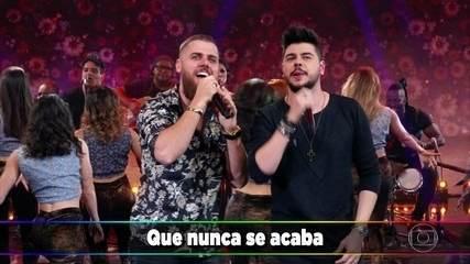 Zé Neto e Cristiano cantam 'Largado às Traças'
